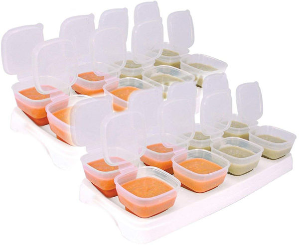Baby freezer cube trays