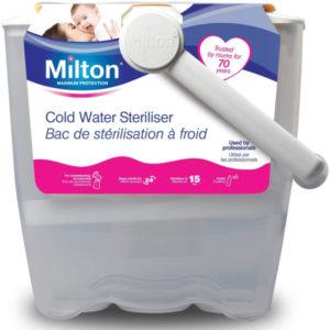 Milton cold water steriliser