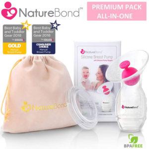 NatureBond manual breastfeeding pump