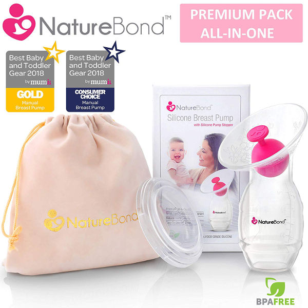NatureBond manual breastfeeding pump