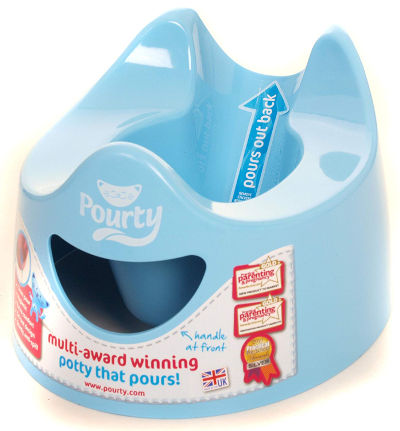 Pourty easy to pour potty