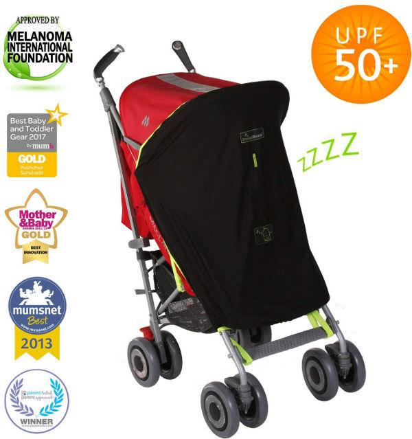 SnoozeShade universal buggy sunshade