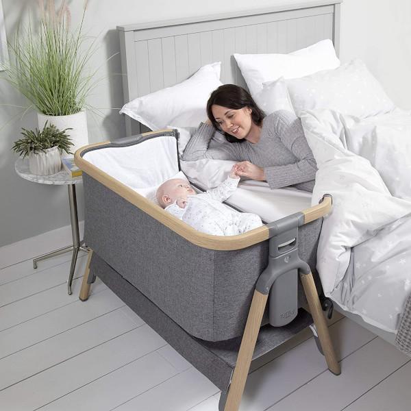 Tutti Bambini CoZee bedside crib in use