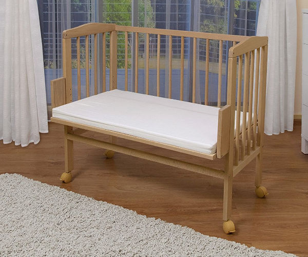 WALDIN baby bedside cot co sleeper