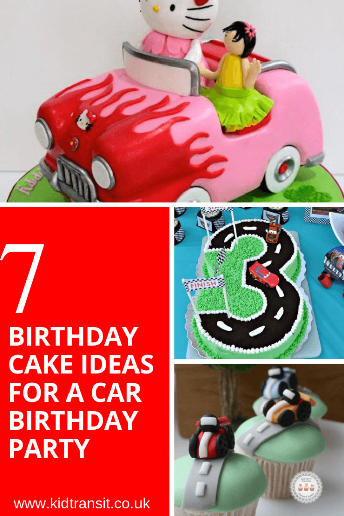 7 party cake ideas for a car theme first birthday party