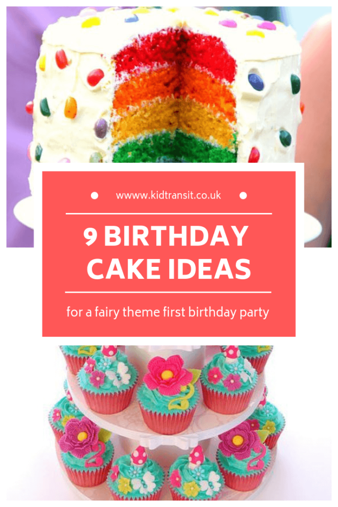 Birthday cake ideas for a fairy theme first birthday party