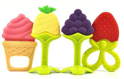 Fun Fruit Teething Toys