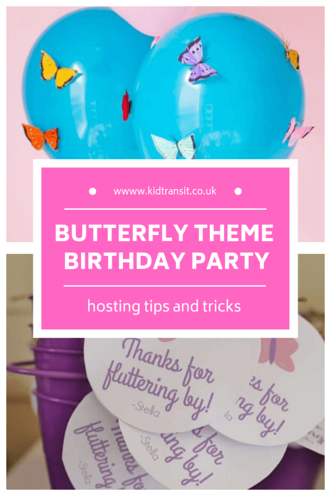 How to host a butterfly theme first birthday party