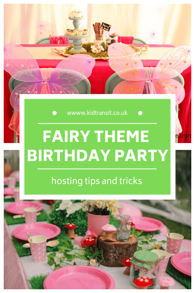 How to host a fairy theme first birthday party