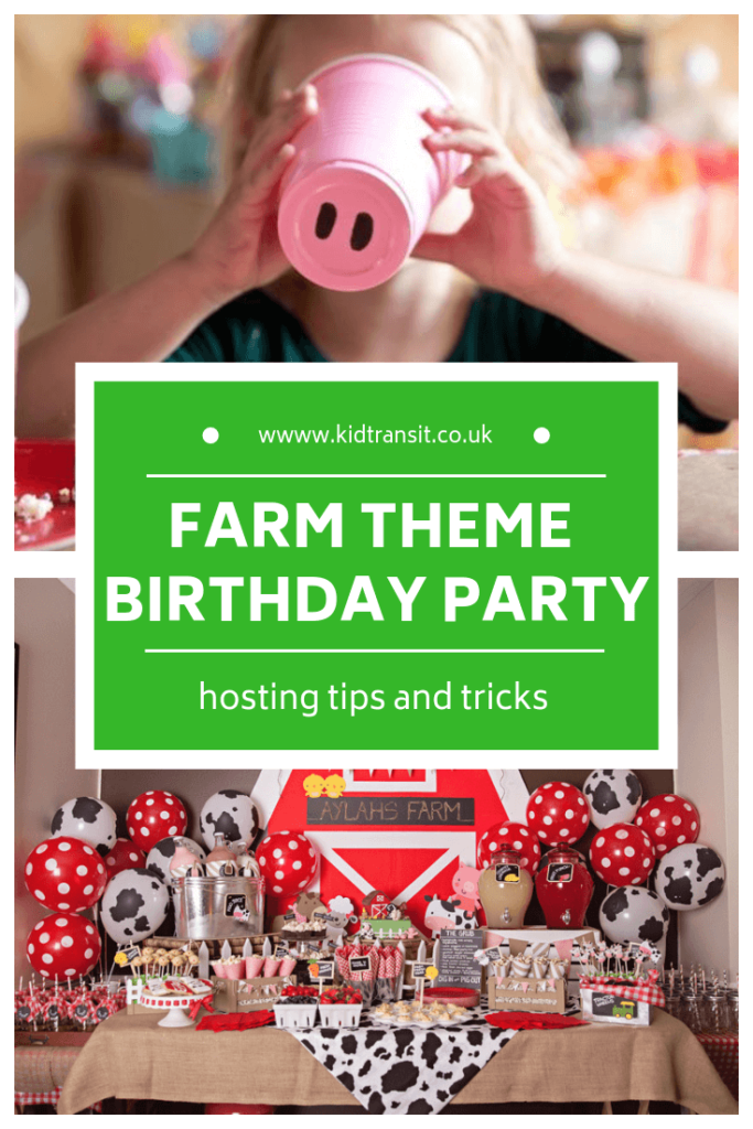 How to host a farm theme first birthday party