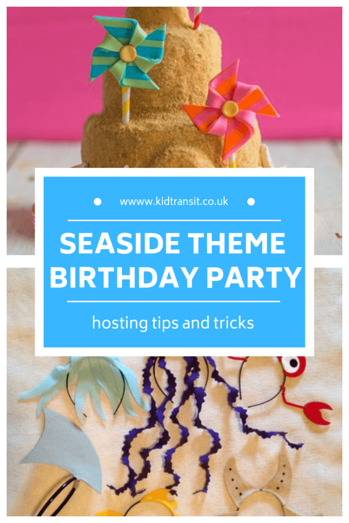 How to host a seaside theme first birthday party