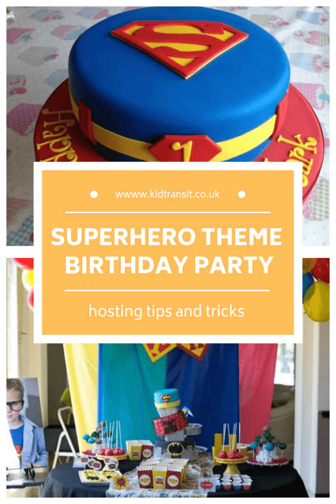 How to host an awesome superhero theme first birthday party