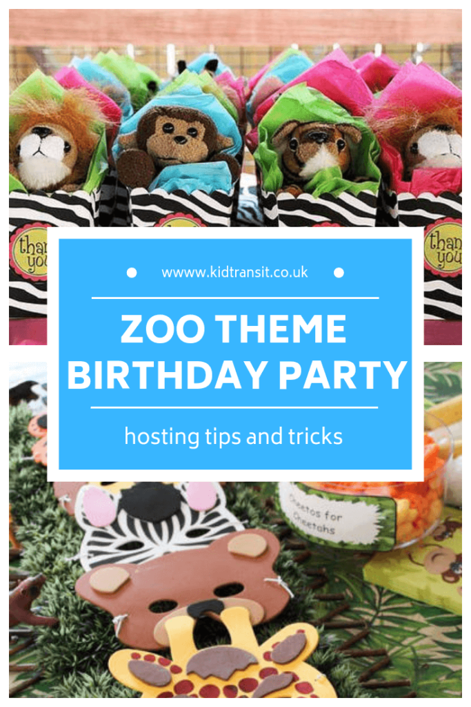 How to host a zoo theme first birthday party