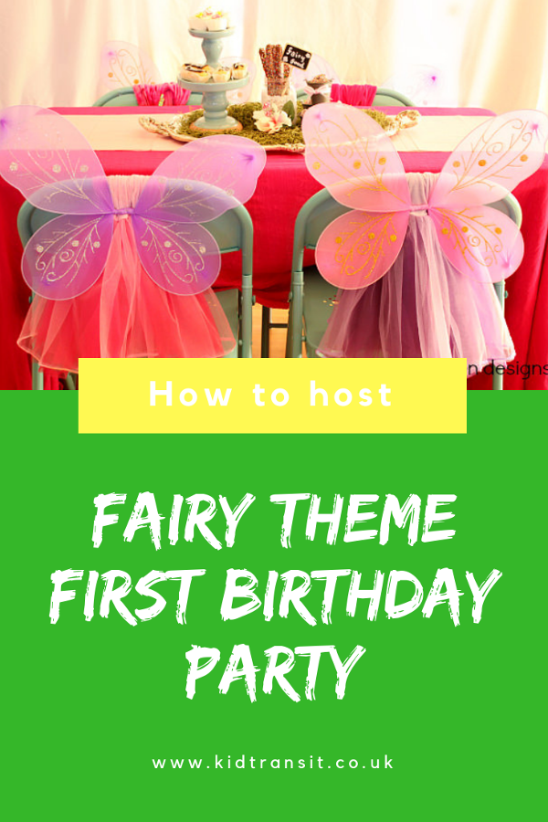 How to host a magical fairy theme birthday party