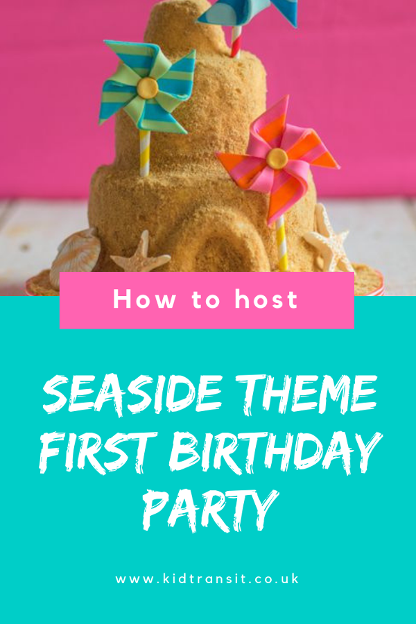 How to host seaside theme first birthday party