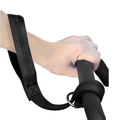 Stroller safety wrist strap