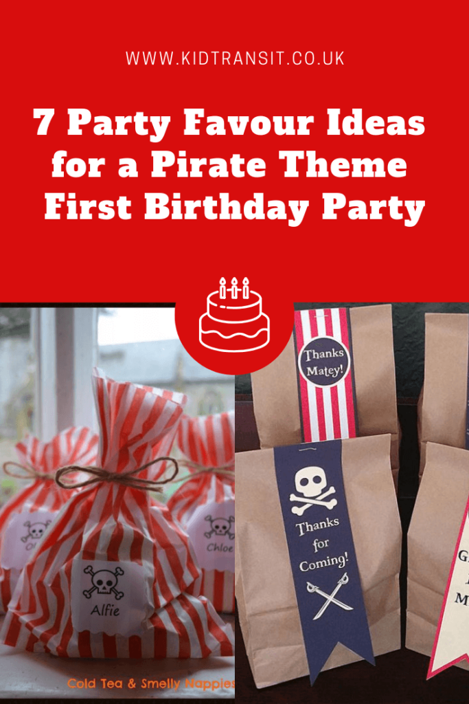 7 great party favour ideas for a pirate theme first birthday party