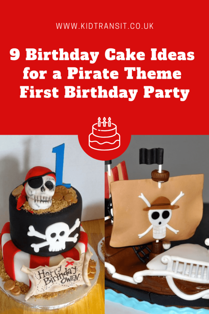 9 great birthday cakes for a pirate theme first birthday party