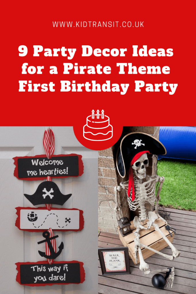 9 great party decor ideas for a pirate theme first birthday party
