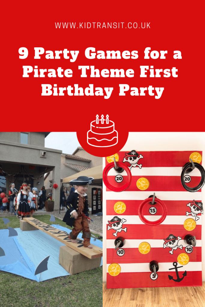 9 great party games for a pirate theme first birthday party