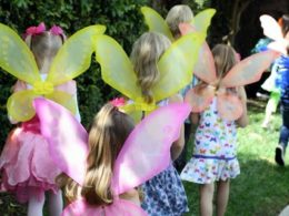 Butterfly first birthday activity treasure hunt