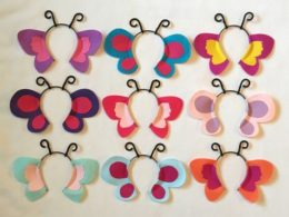 Butterfly first birthday decor idea butterfly headbands