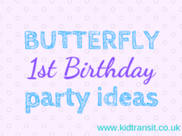Butterfly first birthday party ideas theme
