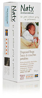 Eco disposal nappy bags