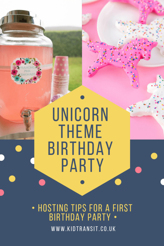 Great ideas for hosting a unicorn theme first birthday party
