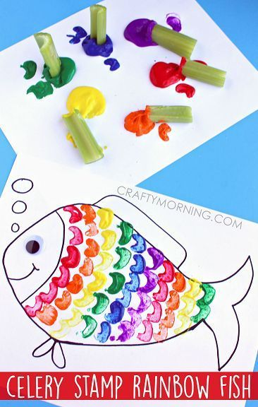 Seaside beach theme fish print party game