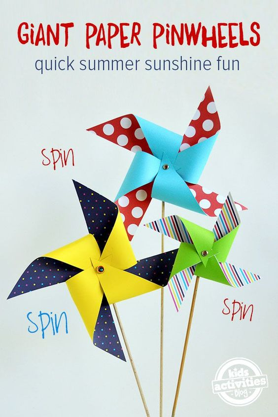 Seaside beach theme pinwheels decor