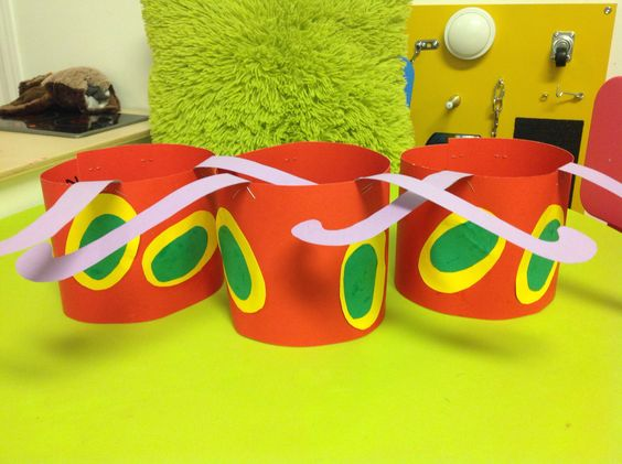 Very Hungry Caterpillar first birthday party headband decor