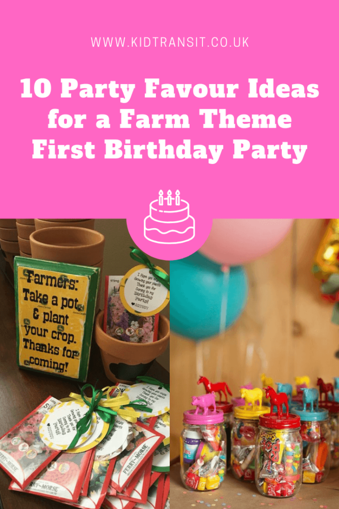 10 great party favour ideas for a farm theme first birthday party