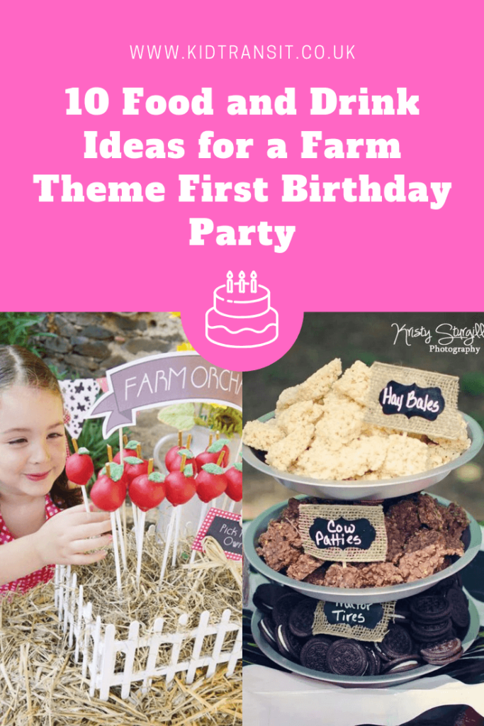 10 great party food and drink ideas for a farm theme first birthday party