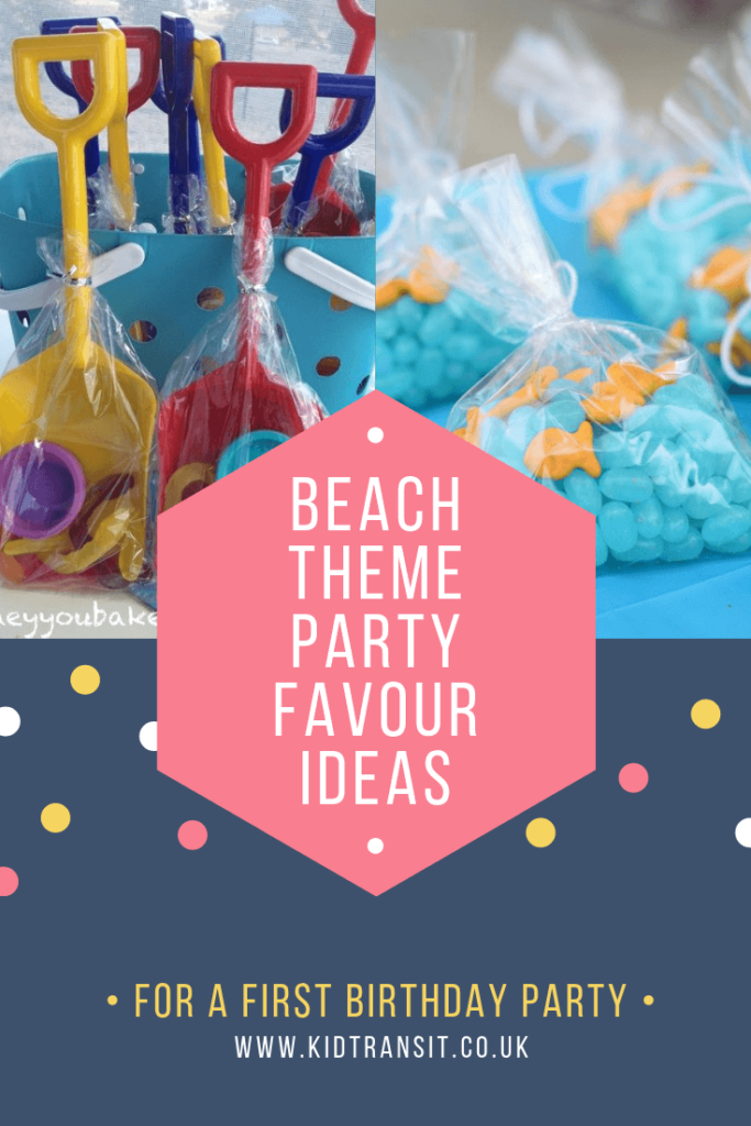 Check out 8 awesome party favour ideas for a beach theme first birthday party