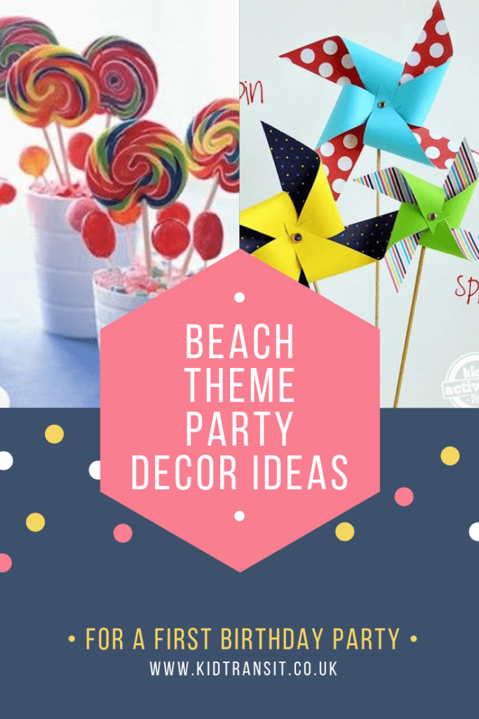 Check out 8 brilliant decor ideas for a beach theme first birthday party