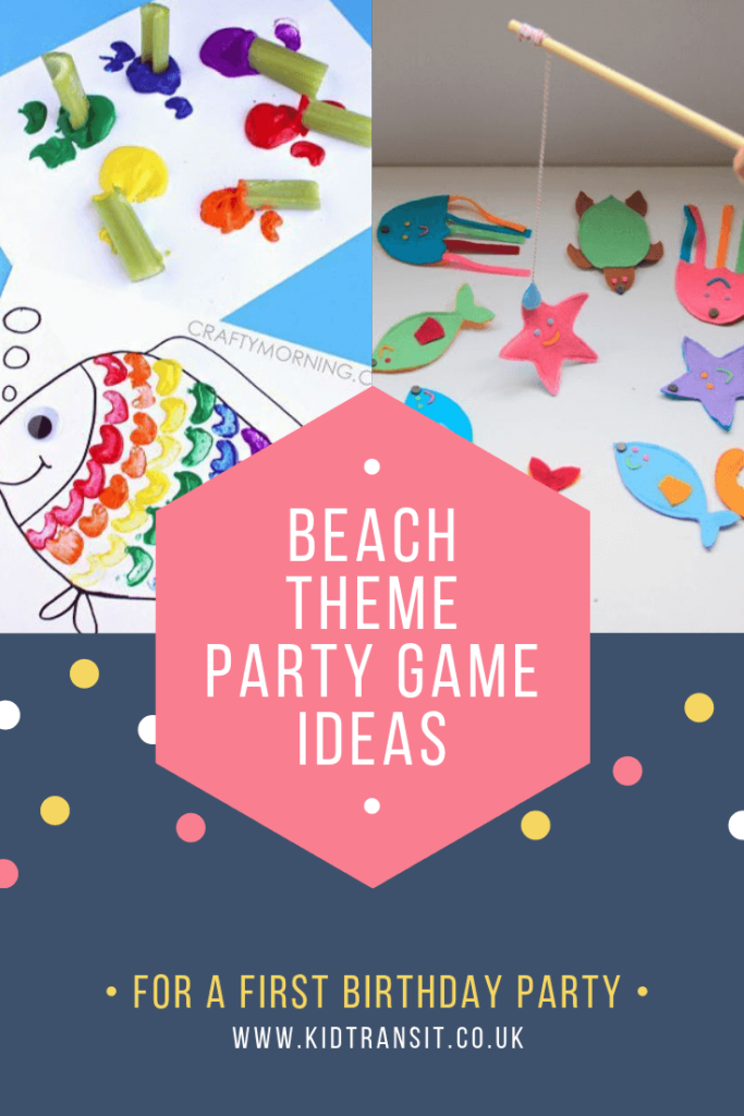 Check out 8 fun party games and activities for a beach theme first birthday party