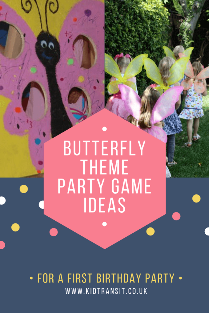 Party games and activities for a Butterfly theme first birthday party