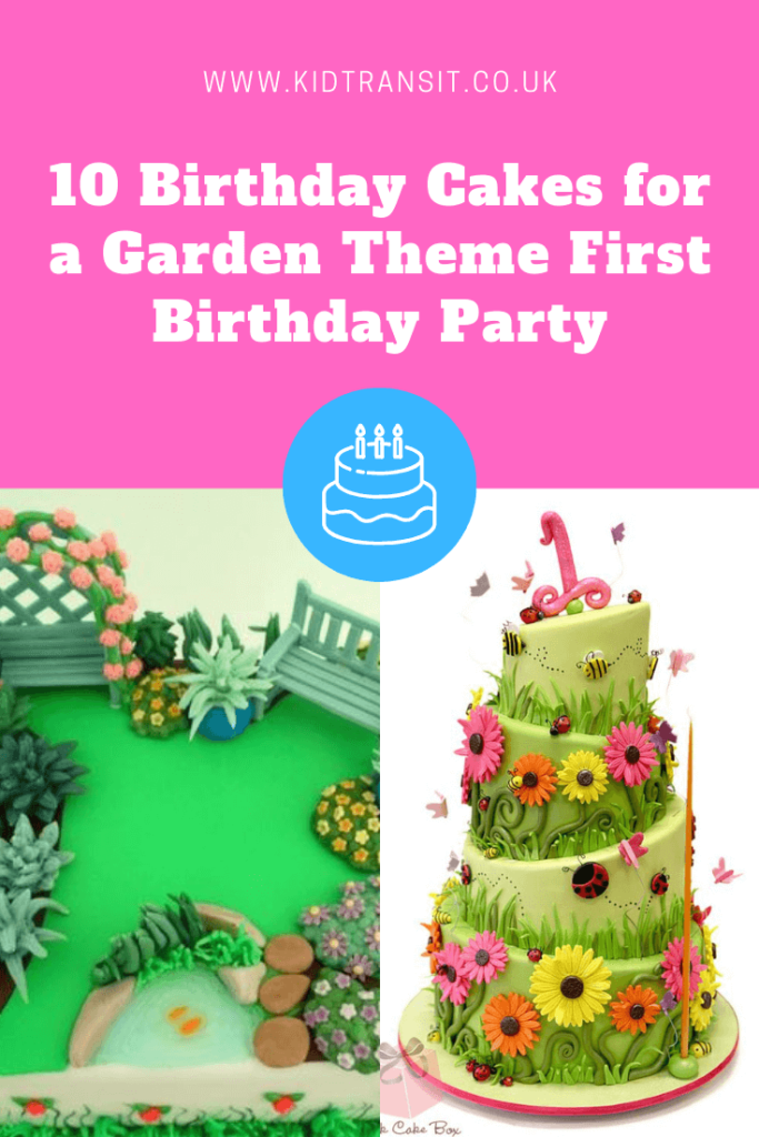 10 great birthday cake ideas for a garden theme first birthday party