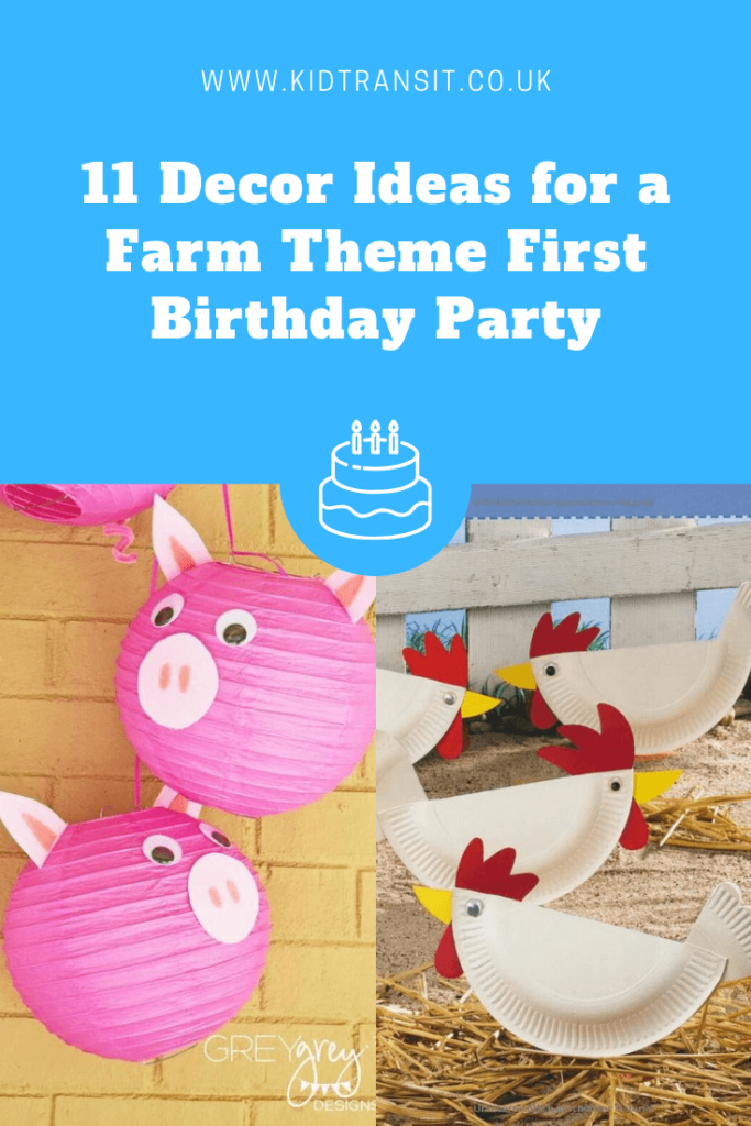 11 great party decor ideas for a farm theme first birthday party