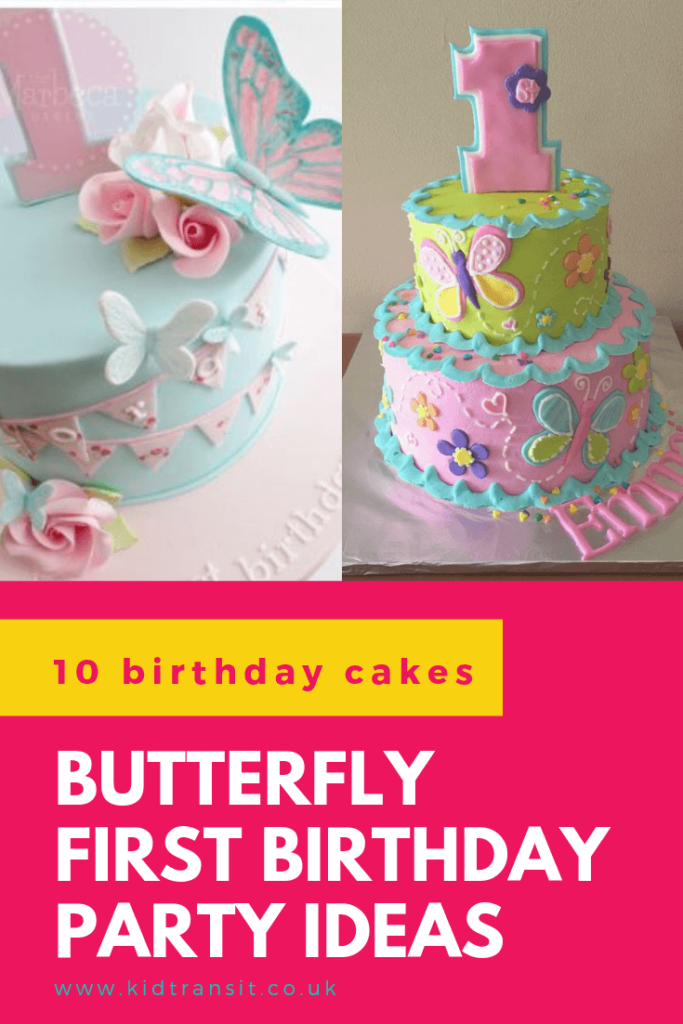 Check out 10 delicious birthday cake ideas for a butterfly theme first birthday party