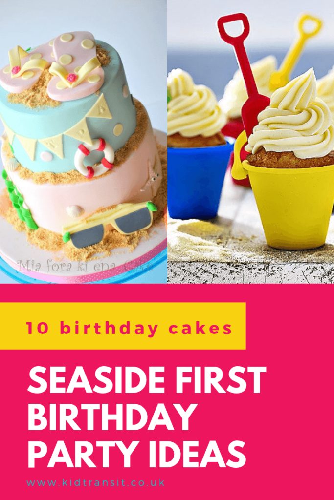 Check out 10 delicious birthday cakes for a seaside theme first birthday party