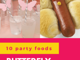 Check out 10 delicious party food and drink ideas for a butterfly theme first birthday party