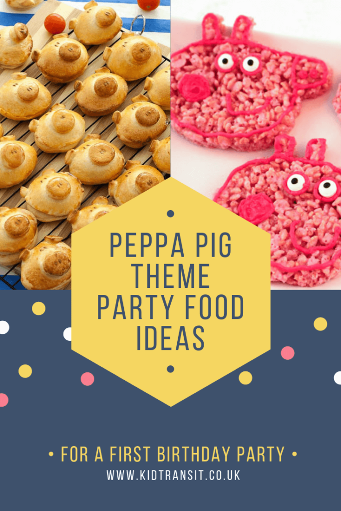 Check out 11 delicious party food and drink ideas for a Peppa Pig theme first birthday party
