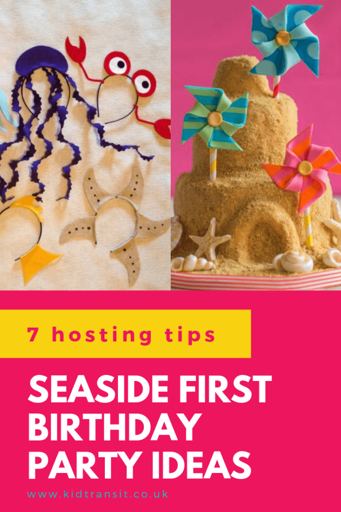 Check out 7 amazing tips and tricks to host a seaside theme first birthday party