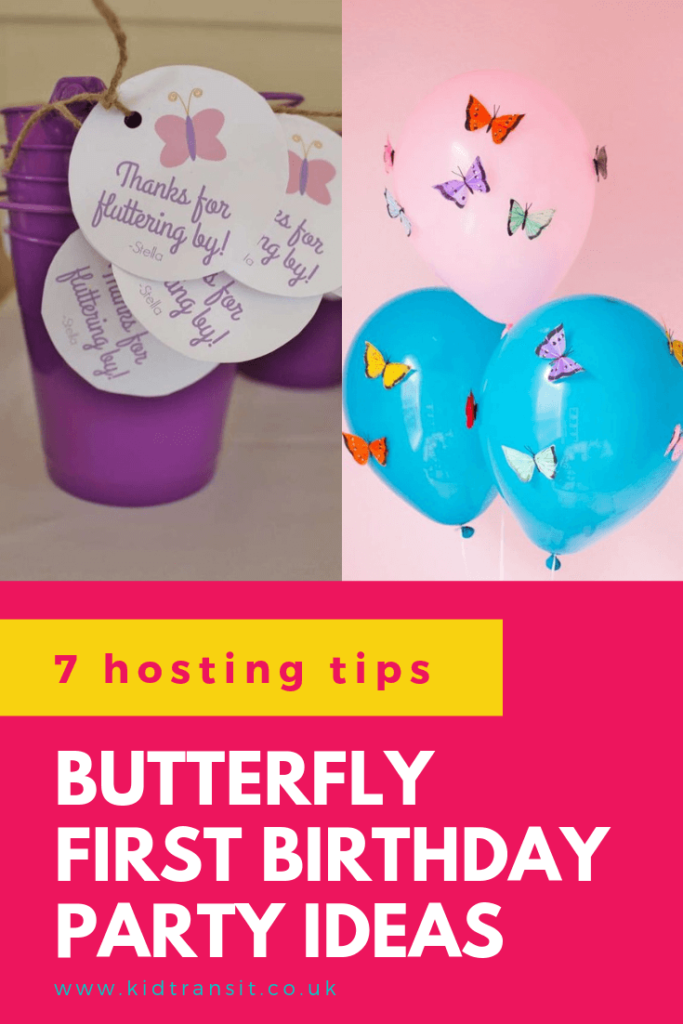 Check out 7 amazing tips and tricks to host a butterfly theme first birthday party
