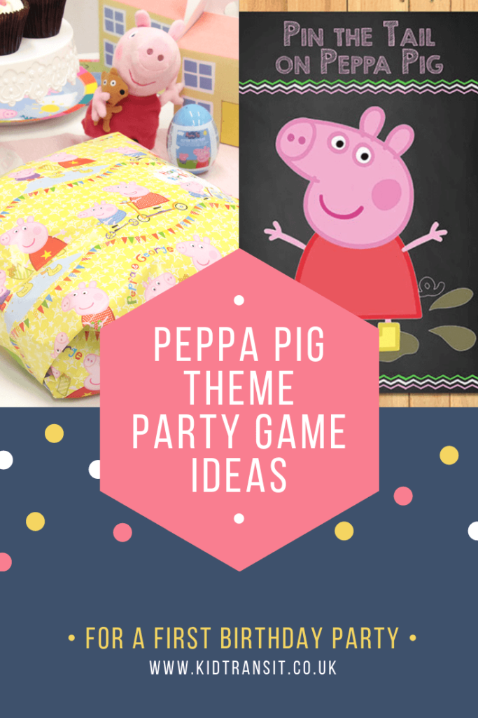 Check out 7 fun party games and activities for a Peppa Pig theme first birthday party