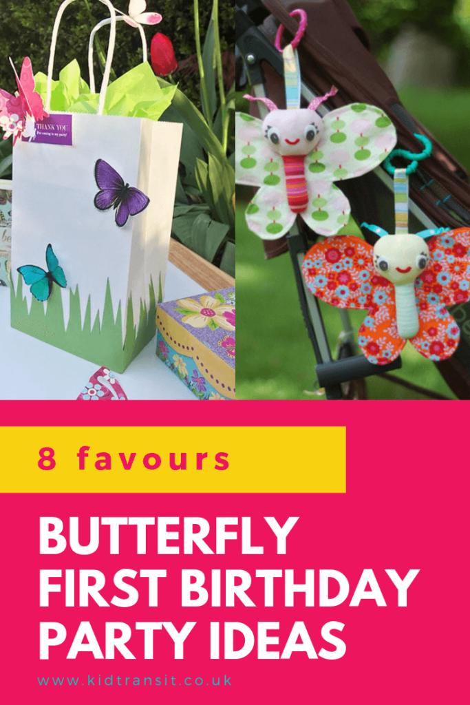 Check out 8 awesome party favour ideas for a butterfly theme first birthday party