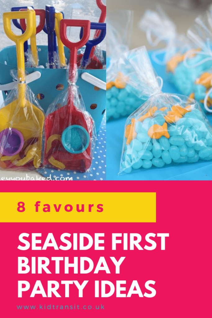 Check out 8 awesome party favour ideas for a seaside theme first birthday party