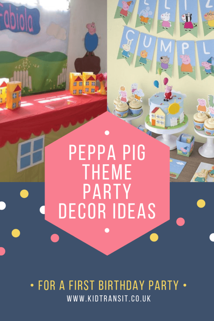 Check out 8 brilliant decor ideas for a Peppa Pig theme first birthday party